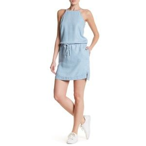 Paige Angelica Dress Lightweight Light Blue